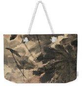 Wind In The Lotus Weekender Tote Bag