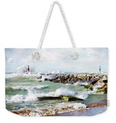Wind Power Weekender Tote Bag