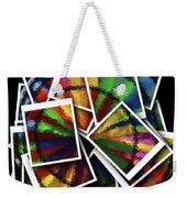 Wind Spinner Collage Weekender Tote Bag