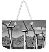 Wind Turbines Palm Springs Weekender Tote Bag