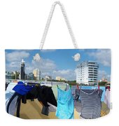 Wind Worn Rooftop Weekender Tote Bag