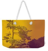 Windblown At Twilight Weekender Tote Bag