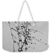 Windblown In The Snow Weekender Tote Bag