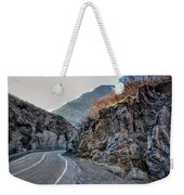Winding Canyon Road Weekender Tote Bag