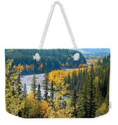 Winding Creek Weekender Tote Bag