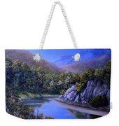 Winding River Weekender Tote Bag