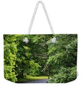 Winding Road Bluestone State Park West Virginia Weekender Tote Bag