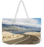 Winding Road In Croatia Weekender Tote Bag