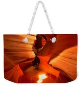 Winding Through Antelope Canyon Weekender Tote Bag