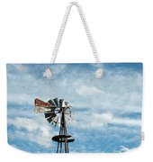 Windmill And Clouds Weekender Tote Bag