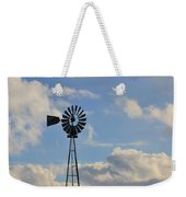 Windmill And Sky Weekender Tote Bag