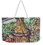 Windmill And Tulips  Weekender Tote Bag