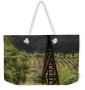 Windmill And Vineyards Weekender Tote Bag