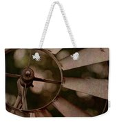 Windmill At Dusk Weekender Tote Bag