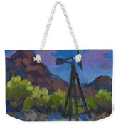 Windmill At Keys Ranch Joshua Tree Weekender Tote Bag