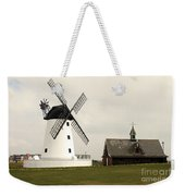 Windmill At Lytham St. Annes - England Weekender Tote Bag