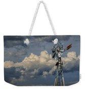 Windmill Energy On Old Prairie Farm Weekender Tote Bag