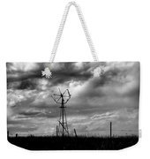 Windmill Foreground A Dramatic Sky Baw Weekender Tote Bag