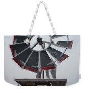 Windmill Frost Weekender Tote Bag