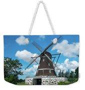 Windmill In Fleninge,sweden Weekender Tote Bag