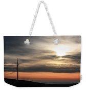 Windmill In Sunrise Weekender Tote Bag