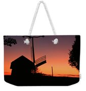 Windmill In The Afterglow. Weekender Tote Bag