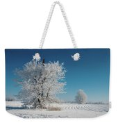 Windmill In The Frost Weekender Tote Bag