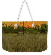 Windmill On The Prairie Weekender Tote Bag