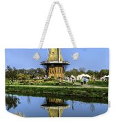 Windmill Reflection Weekender Tote Bag