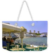Windmill View Weekender Tote Bag