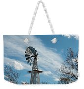 Windmill With White Wood Base Weekender Tote Bag