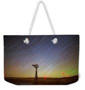 Windmills And Stars Weekender Tote Bag