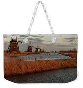 Windmills In The Evening Sun Weekender Tote Bag