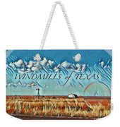 Windmills Of Texas Weekender Tote Bag