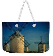 Windmills Under Blue Sky Weekender Tote Bag