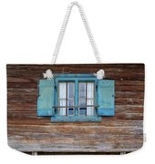 Window And Bench Weekender Tote Bag