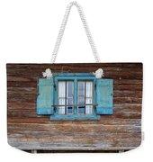 Window And Bench Weekender Tote Bag by Yair Karelic