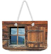 Window And Reflection Weekender Tote Bag