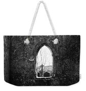 Window At Fuerty Church Roscommon Ireland Weekender Tote Bag
