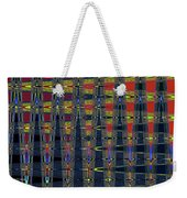 Window At Tempe Center For The Arts Abstract Weekender Tote Bag