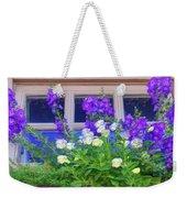 Window Box With Pansies Weekender Tote Bag