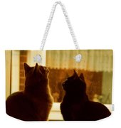 Window Cats Weekender Tote Bag
