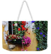 Window Garden In Arles France Weekender Tote Bag