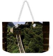 Window Great Wall Weekender Tote Bag