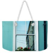Window In Ennistymon Ireland Weekender Tote Bag