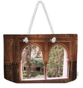 Window In La Alhambra Weekender Tote Bag