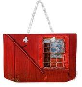 Window In Red Weekender Tote Bag