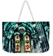 Window In The Lisbon Cathedral Weekender Tote Bag
