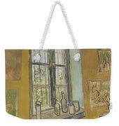 Window In The Studio Saint-remy-de-provence, September - October 1889 Vincent Van Gogh 1853 - 1890 Weekender Tote Bag