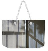 Window Lines Weekender Tote Bag
